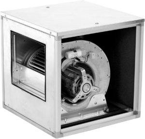 caisson ventilateur a accouplement direct