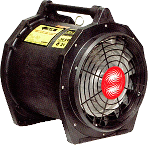 ventilateur portable ATEX